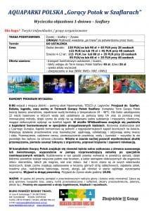 """Wycieczka aquapark Goracy Potok Szaflary 212x300 - AQUAPARKI POLSKA """"Gorący Potok w Szaflarach"""""""