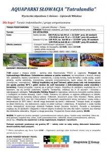 """Wycieczka Słowacja aquapark Tatralandia 212x300 - AQUAPARKI SŁOWACJA """"Tatralandia"""""""