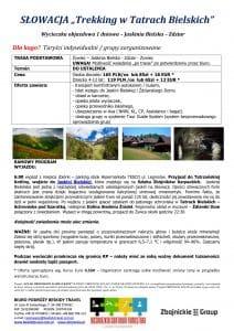 """Wycieczka jaskinia Bielska schronisko pod Szarotka Zdziar 212x300 - SŁOWACJA """"Trekking w Tatrach Bielskich"""""""