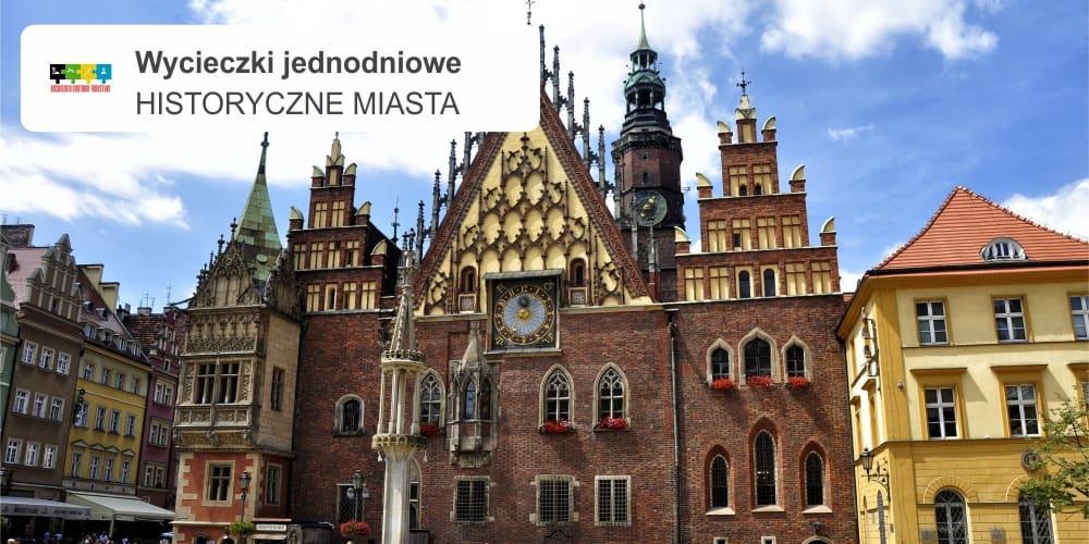 """historyczne miasta leszek wycieczki jednodniowe - POLSKIE PERŁY ARCHITEKTURY  """"Wrocław – miasto krasnali"""""""