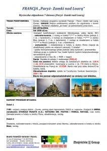 """Wycieczka Francja Paryż Zamki nad Loarą 7 dni 1 212x300 - FRANCJA """"Paryż- Zamki nad Loarą"""""""