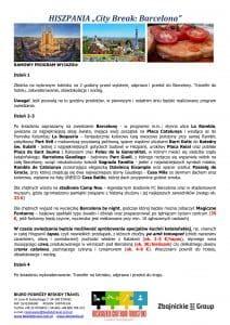 """Wycieczka Hiszpania City Break Barcelona 4 dni doc2 212x300 - HISZPANIA """"City Break: Barcelona"""""""