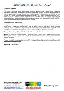 """Wycieczka Hiszpania City Break Barcelona 4 dni doc3 212x300 - HISZPANIA """"City Break: Barcelona"""""""