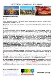 """Wycieczka Hiszpania City Break Barcelona 5 dni doc2 212x300 - HISZPANIA """"City Break: Barcelona"""""""