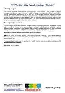 """Wycieczka Hiszpania City Break Madryt Toledo 5 dni doc3 212x300 - HISZPANIA """"City Break: Madryt i Toledo"""""""