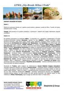 """Wycieczka Litwa City Break Wilno Troki 4 dni doc2 212x300 - LITWA """"City-Break: Wilno i Troki"""""""