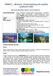 """Wycieczka Niemcy Bawaria 6 dni doc1 212x300 - NIEMCY – """"Bawaria - kraina baśniowych zamków i pałaców"""""""