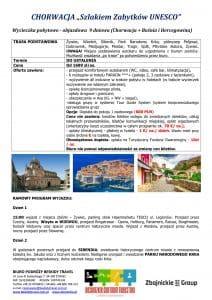 """Wycieczka objazdowa Chorwacja 9 dni doc1 212x300 - CHORWACJA """"Szlakiem Zabytków UNESCO"""""""