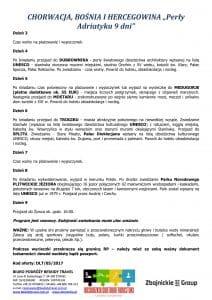 """Wycieczka objazdowa Chorwacja Bośnia Hercegowica 9 dni doc2 212x300 - CHORWACJA, BOŚNIA I HERCEGOWINA """"Perły Adriatyku"""""""