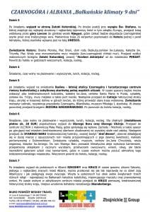 """Wycieczka objazdowa Czarnogóra Albania 9 dni doc2 212x300 - CZARNOGÓRA i ALBANIA """"Bałkańskie klimaty"""""""