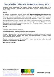 """Wycieczka objazdowa Czarnogóra Albania 9 dni doc3 212x300 - CZARNOGÓRA i ALBANIA """"Bałkańskie klimaty"""""""