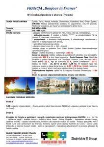 """Wycieczka objazdowa Francja 6 dni doc1 212x300 - FRANCJA """"Bonjour la France"""""""