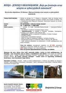 """Wycieczka objazdowa Jenisej Krasnojarsk 10 dni 1 212x300 - ROSJA - JENISEJ I KRASNOJARSK """"Rejs po Jeniseju oraz wizyta w syberyjskich miastach"""""""