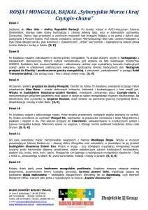 """Wycieczka objazdowa Mongolia Bajkał 15 dni 3 212x300 - ROSJA I MONGOLIA, BAJKAŁ """"Syberyjskie Morze i kraj  Czyngis-chana"""""""
