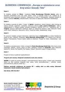 """Wycieczka objazdowa Słowenia Chorwacja 7 dni doc2 212x300 - SŁOWENIA i CHORWACJA- """"Europa w miniaturze oraz kraj wina i lawędy 7dni"""""""