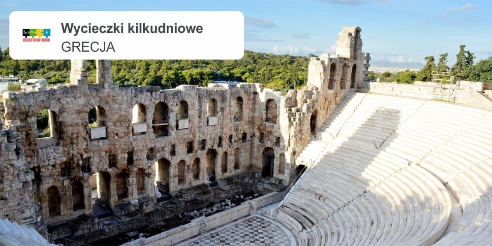"""grecja leszek wycieczki kilkudniowe - GRECJA """"Wycieczka do kraju słońca, błękitnego morza, białych domków i wielkiej historii"""""""