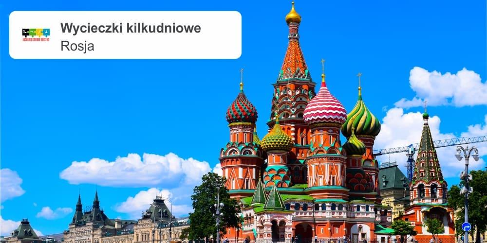 """rosja leszek wycieczki kilkudniowe - ROSJA - PETERSBURG samolotem """"Kulturalna stolica Rosji"""""""