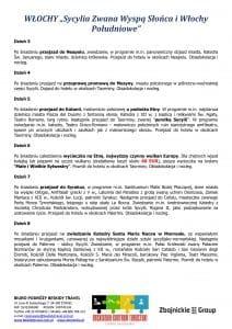 """Wycieczka Sycylia Włochy Południowe 12 dni doc2 212x300 - WŁOCHY """"Sycylia Zwana Wyspą Słońca i Włochy Południowe"""""""
