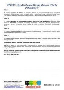 """Wycieczka Sycylia Włochy Południowe 12 dni doc3 212x300 - WŁOCHY """"Sycylia Zwana Wyspą Słońca i Włochy Południowe"""""""