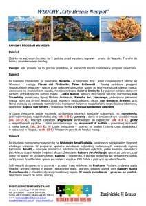 """Wycieczka Włochy City Break Neapol 4 dni doc2 212x300 - WŁOCHY """"City Break: Neapol"""""""