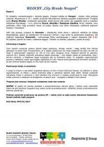 """Wycieczka Włochy City Break Neapol 4 dni doc3 212x300 - WŁOCHY """"City Break: Neapol"""""""