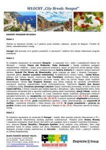 """Wycieczka Włochy City Break Neapol 5 dni doc2 212x300 - WŁOCHY """"City Break: Neapol"""""""