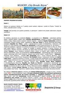 """Wycieczka Włochy City Break Rzym 5 dni doc2 212x300 - WŁOCHY """"City Break: Rzym"""""""