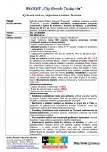 """Wycieczka Włochy City Break Toskania 4 dni doc1 1 212x300 - WŁOCHY """"City Break: Toskania"""""""