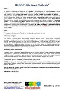 """Wycieczka Włochy City Break Toskania 4 dni doc3 1 212x300 - WŁOCHY """"City Break: Toskania"""""""