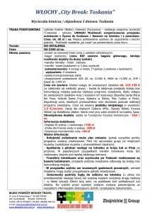 """Wycieczka Włochy City Break Toskania 5 dni doc1 212x300 - WŁOCHY """"City Break: Toskania"""""""