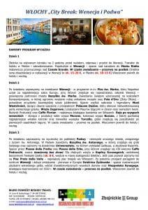 """Wycieczka Włochy City Break Wenecja Padwa 4 dni doc2 212x300 - WŁOCHY """"City Break: Wenecja i Padwa"""""""