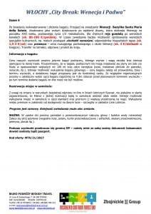 """Wycieczka Włochy City Break Wenecja Padwa 4 dni doc3 212x300 - WŁOCHY """"City Break: Wenecja i Padwa"""""""
