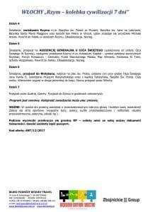 """Wycieczka Włochy Wenecja Asyż Rzym Watykan 7 dni doc2 212x300 - WŁOCHY """"Rzym – kolebka cywilizacji"""""""