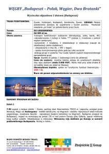 """Wycieczka Węgry Esztergom Budapeszt Szentendre 4 dni doc1 212x300 - WĘGRY """"Budapeszt – Polak, Węgier, Dwa Bratanki"""""""