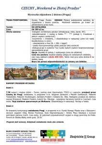 """Wycieczka Weekend Praga 2 dni doc1 212x300 - CZECHY """"Weekend w Złotej Pradze"""""""