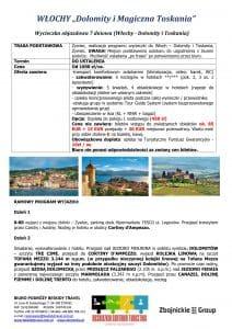 """Wycieczka objazdowa Włochy Dolomity Toskania 7 dni 1 212x300 - WŁOCHY """"Dolomity i Magiczna Toskania"""""""