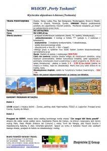 """Wycieczka objazdowa Włochy Toskania 6 dni doc1 212x300 - WŁOCHY """"Perły Toskanii"""""""