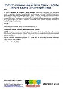 """Wycieczka objazdowa Włochy Toskania Liguria Umbria 8 dni doc3 212x300 - WŁOCHY """"Toskania - Raj Na Ziemi, Liguria - Włoska Riwiera, Umbria - Święty Region Włoch"""""""