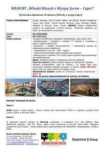 Wycieczka objazdowa Włochy wyspa Capri 10 dni doc1 212x300 - WŁOCHY