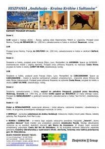 """Wycieczka objazdowo pobytowa Andaluzja Maroko 16 dni doc2 212x300 - HISZPANIA """"Andaluzja - Kraina Królów i Sułtanów"""""""