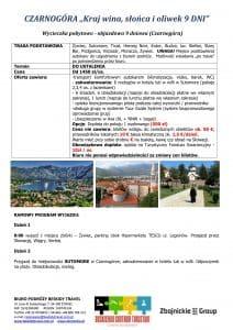 """Wycieczka pobytowo objazdowa Czarnogóra 9 dni 1 212x300 - CZARNOGÓRA """"Kraj wina, słońca i oliwek"""""""