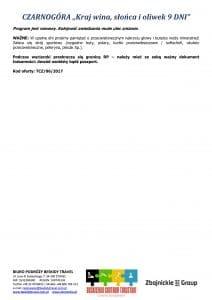 """Wycieczka pobytowo objazdowa Czarnogóra 9 dni 3 212x300 - CZARNOGÓRA """"Kraj wina, słońca i oliwek"""""""