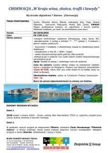 """Wycieczlka objazdowa Chorwacja 7 dni doc1 212x300 - CHORWACJA """"W kraju wina, słońca, trufli i lawędy"""""""